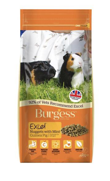 Burgess Excel Guinea Pig 4kg RRP £11.65