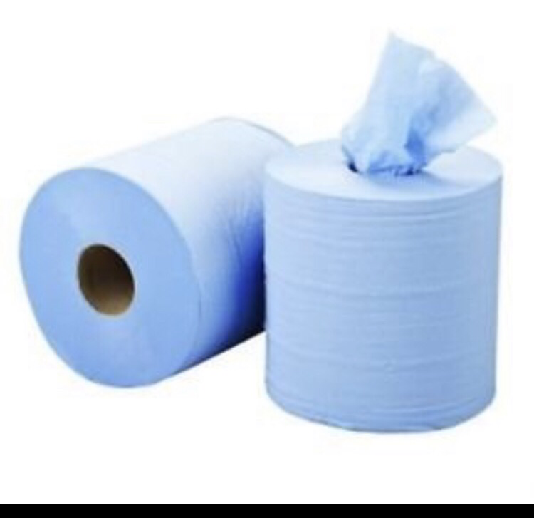 Cleaning Blue roll (single)