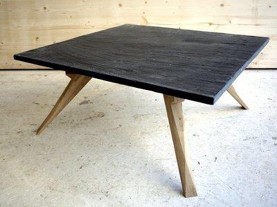 table basse ardoise & chêne n°1 sur 3