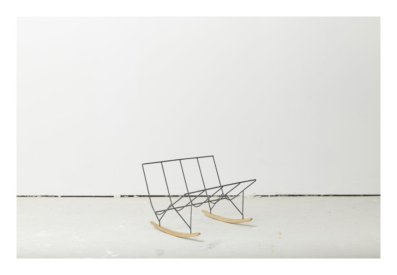 Porte revue / clin d'oeil à Eames