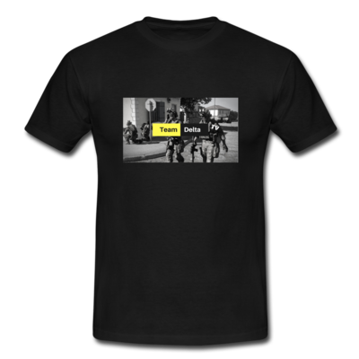 Team Delta TV Supporter T-Shirt [altes Logo+Social Media]