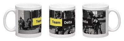 Team Delta TV Tasse [altes Logo]