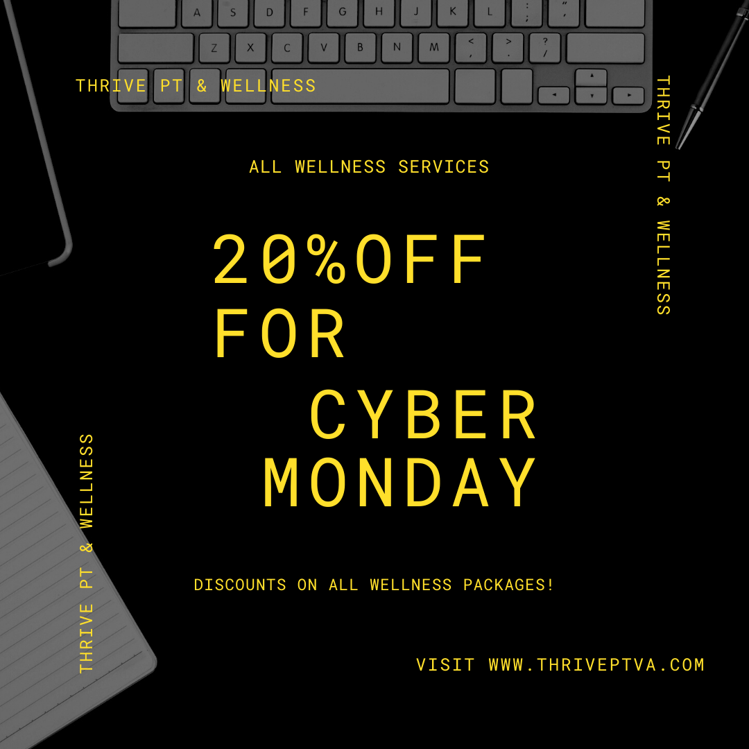 CYBER MONDAY SALE 20% OFF 4 60-Minute Massage Therapy Sessions