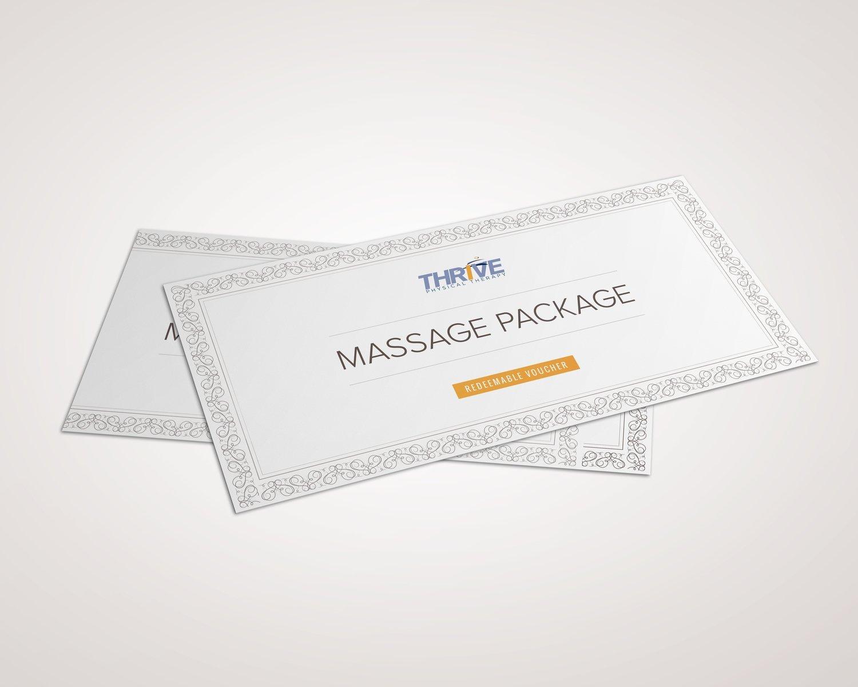 Twelve 30 Minute Restore and Rejuvenate Massage Sessions