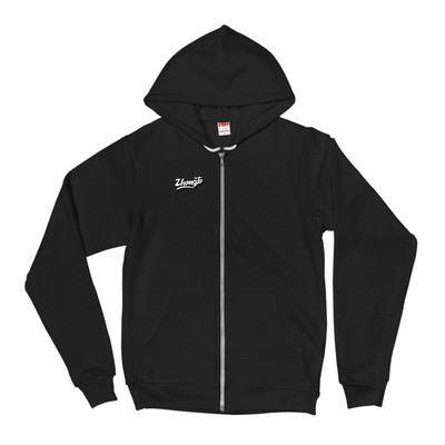 RE$PECT RAP SCRIPT LOGO Flex Hoodie by American Apparel