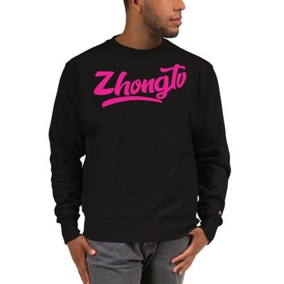 Sick with the Script ZHONG.TV Crewneck by Champion