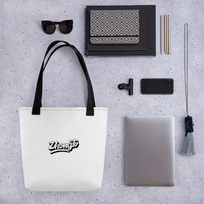 ZHONG.TV SCRIPT TOTE ALL DAY BAG