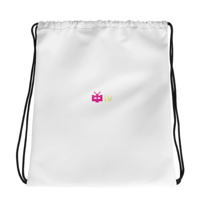 ZHONG.TV MAIN LOGO ALL DAY Drawstring Bag
