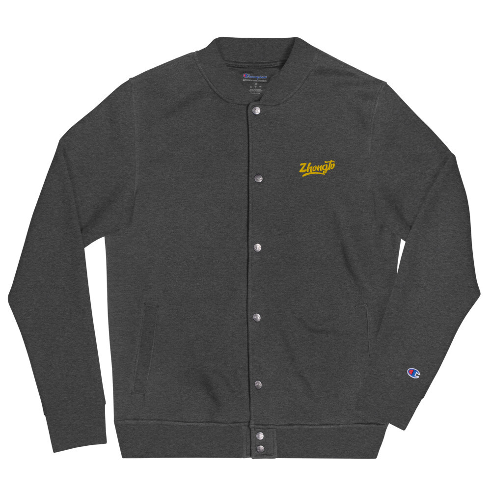 【 S T I C K  T O  T H E  S C R I P T 】Embroidered BOMBER by Champion