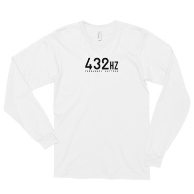 FREQUENCY MATTERS LONG SLEEVE T by American Apparel