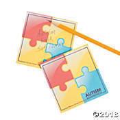 Autism Sticky Notepad