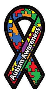 Autism Awareness Bumper Magnet
