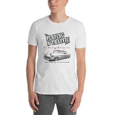 The official Playing N Traffic Short-Sleeve Unisex T-Shirt