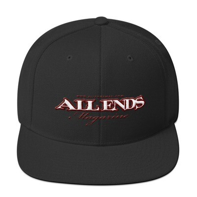 All Ends Magazine Snapback Hat