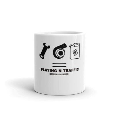 = Playing n Traffic Mug