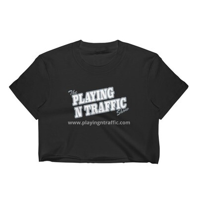 Playing n traffic Women's Crop Top