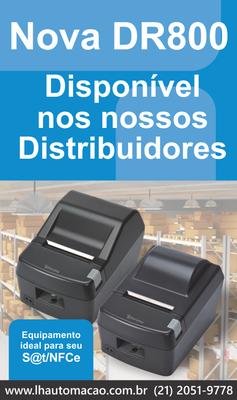 Impressora Térmica Daruma DR800L serrilha