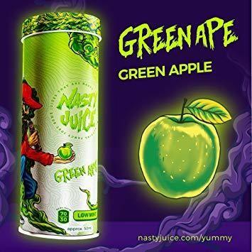 Nasty Juice Green Apple ناستي تفاح أخضر