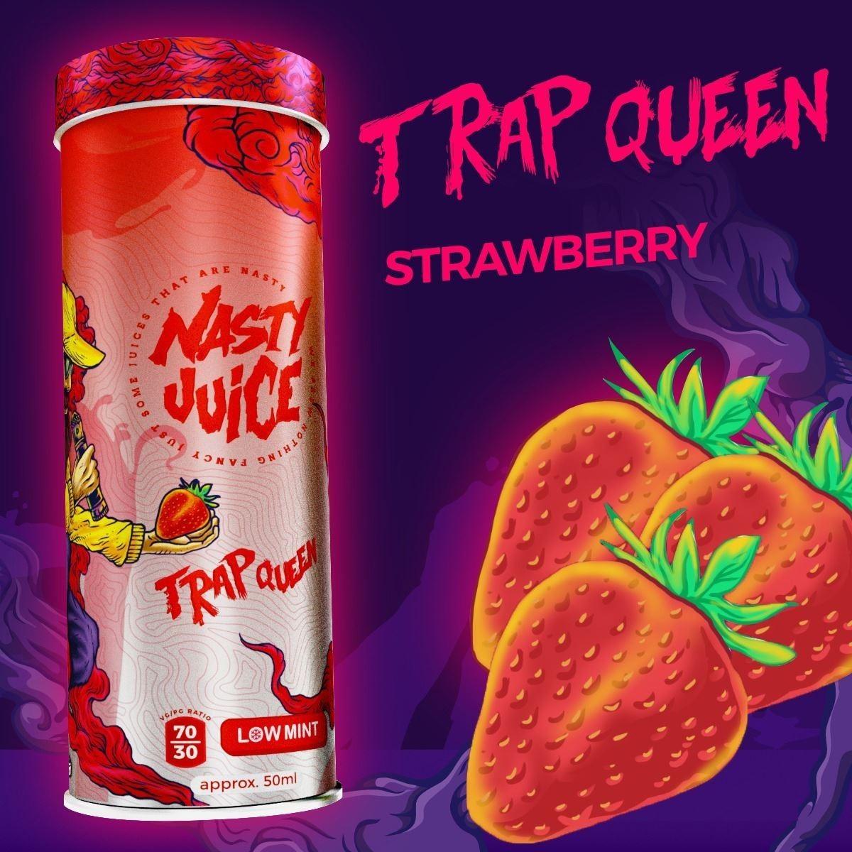 Nasty Juice Trap Queen Strawberry ناستي فراولة
