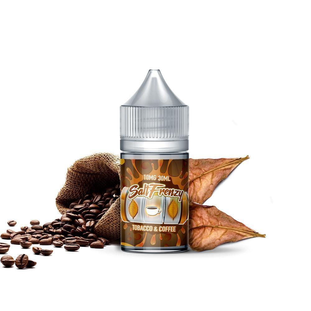 SALT Frenzy - Tobacco & Coffee توباكو و قهوة نيكوتين ملحي من سولت فرنزي