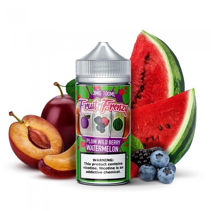 Fruit Frenzy - Plum Berry Watermelon برقوق وتوت وبطيخ من فروت فرنزي