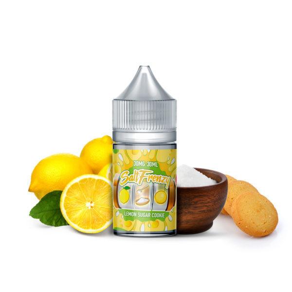 SALT Frenzy - Lemon Sugar Cookie كوكيز الليمون بالسكر من سولت فرنزي نيكوتين ملحي