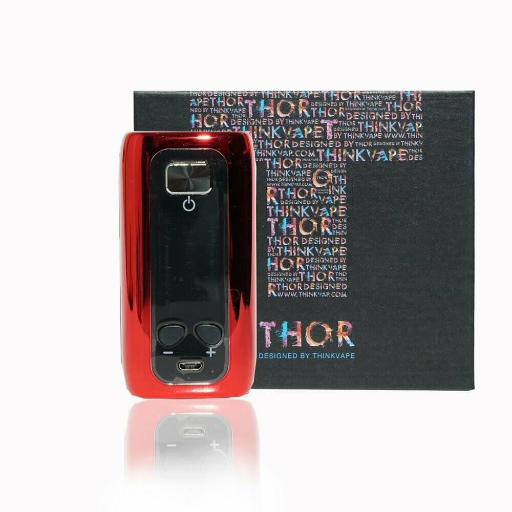 Think Vape Thor Mod Only Red Chrome جهاز ثور لون احمر معدني مود فقط