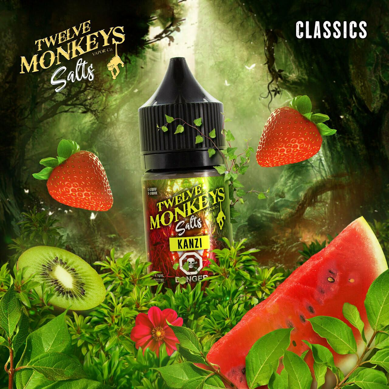 Twelve Monkeys Salt Kanzi تويلف مونكيز كانزي نيكوتين ملحي