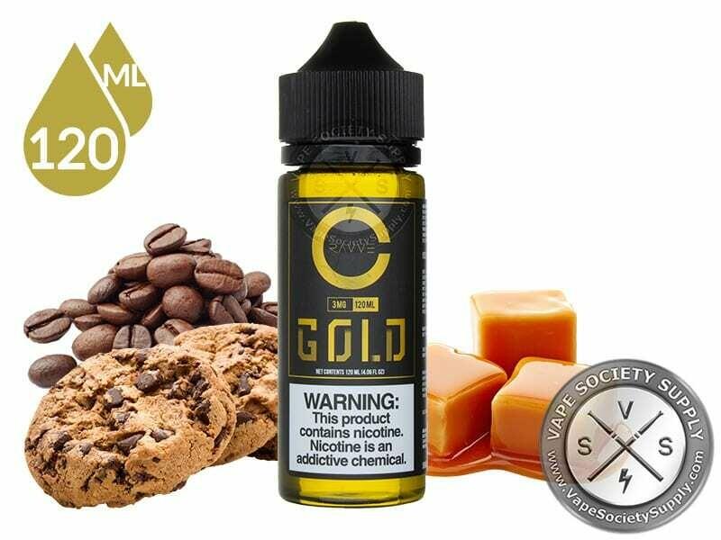CRAVVE Gold Coffee Cookie with Caramel قولد كوكيز القهوة بالكاراميل