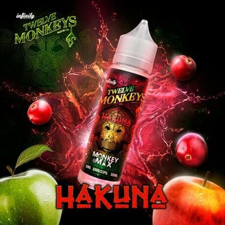 TWELVE MONKEYS - Hakuna Apple Cranberry تويلف مونكيز تفاح وكرانبيري