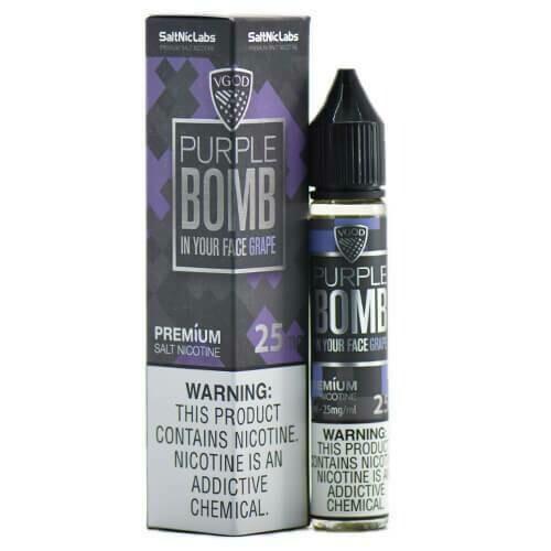 VGOD/SaltNic - Purple Bomb القنبلة البنفسجية من في جاد نيكوتين ملحي
