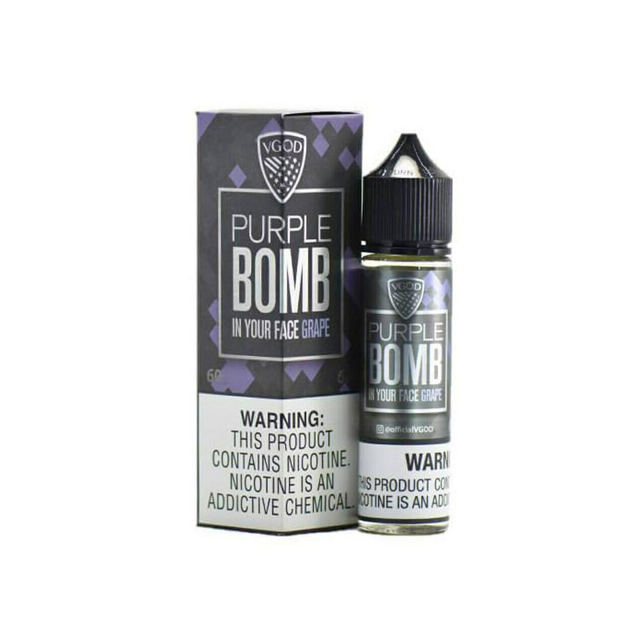 VGOD - Purple Bomb في جاد بيربل بومب عنب