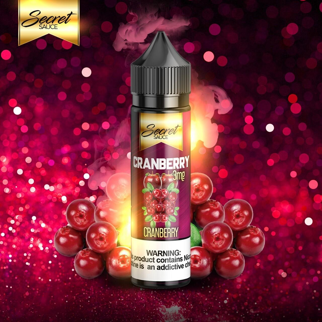 Secret Sauce Cranberry سيكريت صوص تفاح وكرز