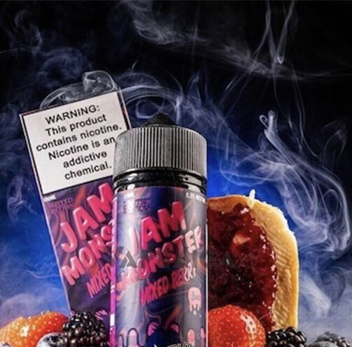 Jam Monsters - Mixed Berries جام مونستر توت مشكل