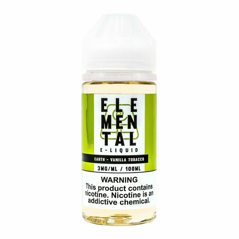Elemental Earth Tobacco Vanilla توباكو بالفانيلا من اليمينتال