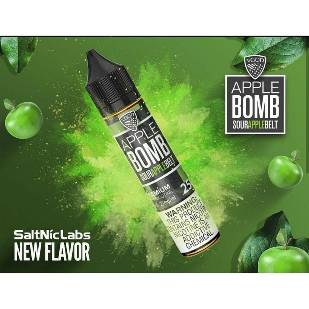 VGOD/SaltNic - Apple Bomb في جاد وسولتنيك قنبلة التفاح نيكوتين ملحي