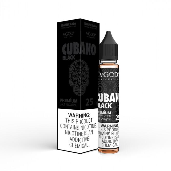 VGOD/SaltNic - Cubano Black  كوبانو بلاك نيكوتين ملحي