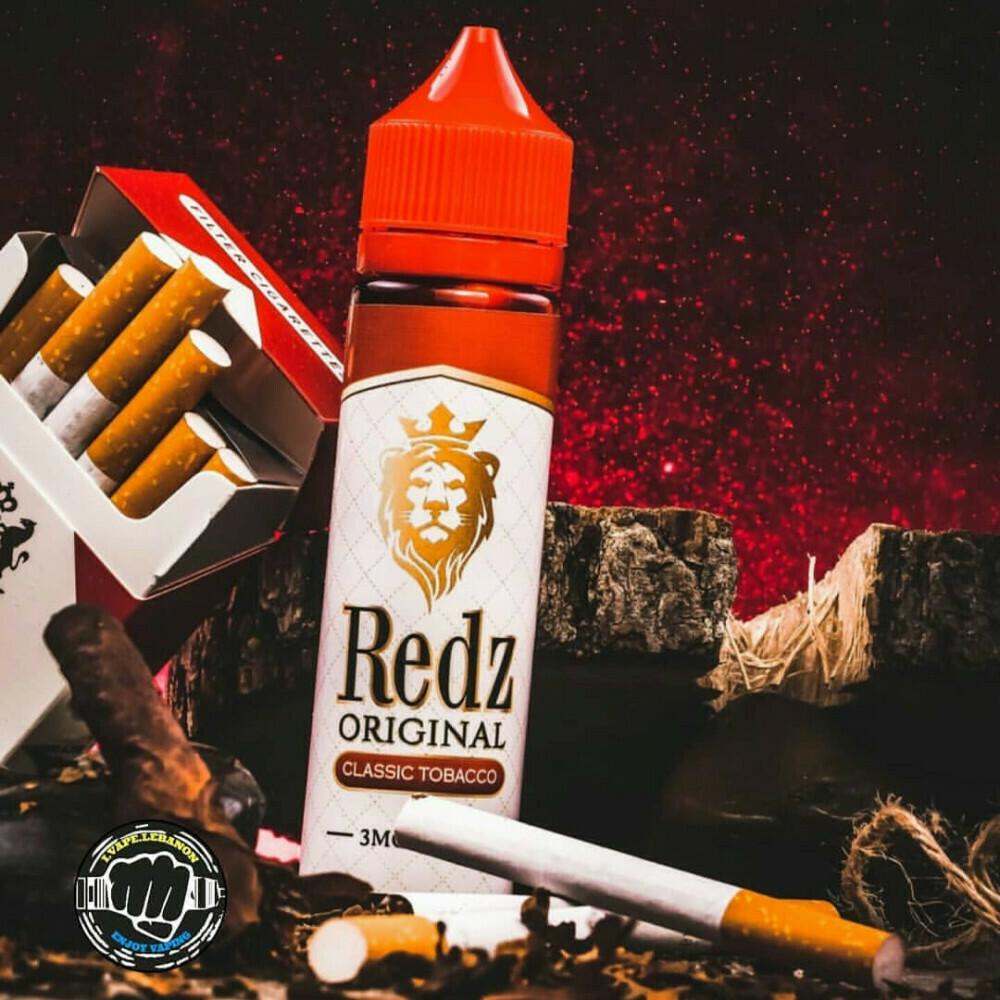 Redz Original Classic Tobacco ريدز اوريجينال توباكو كلاسيكي