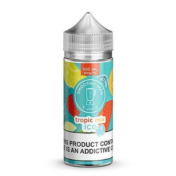 Smoothy Man - Tropic Mix ice سموذي مان فواكه استوائية باردة