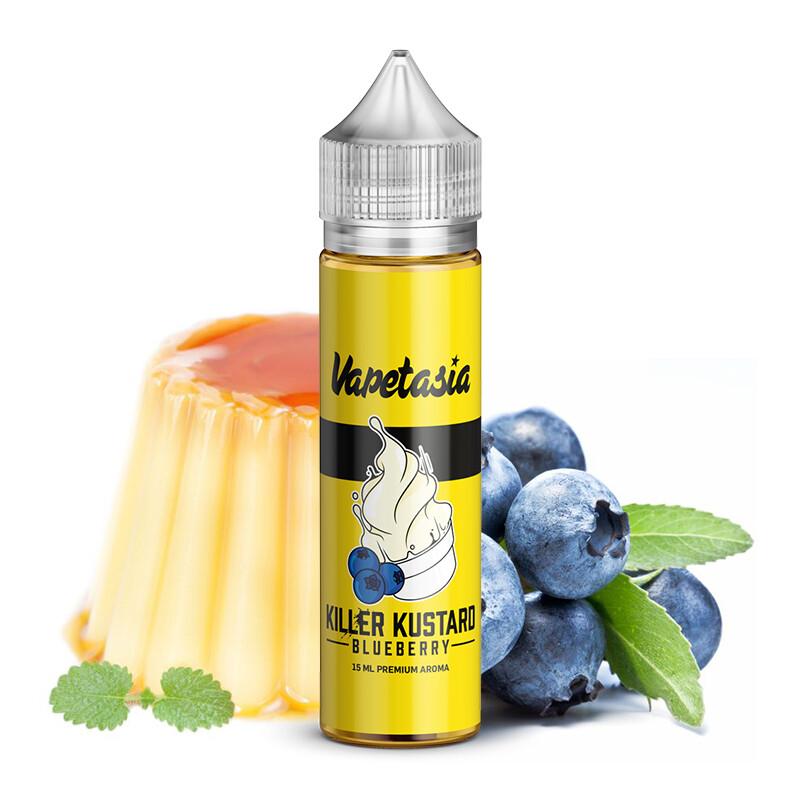 Killer Kustard Blueberry 60ml كيلر كاستارد مع التوت الأزرق