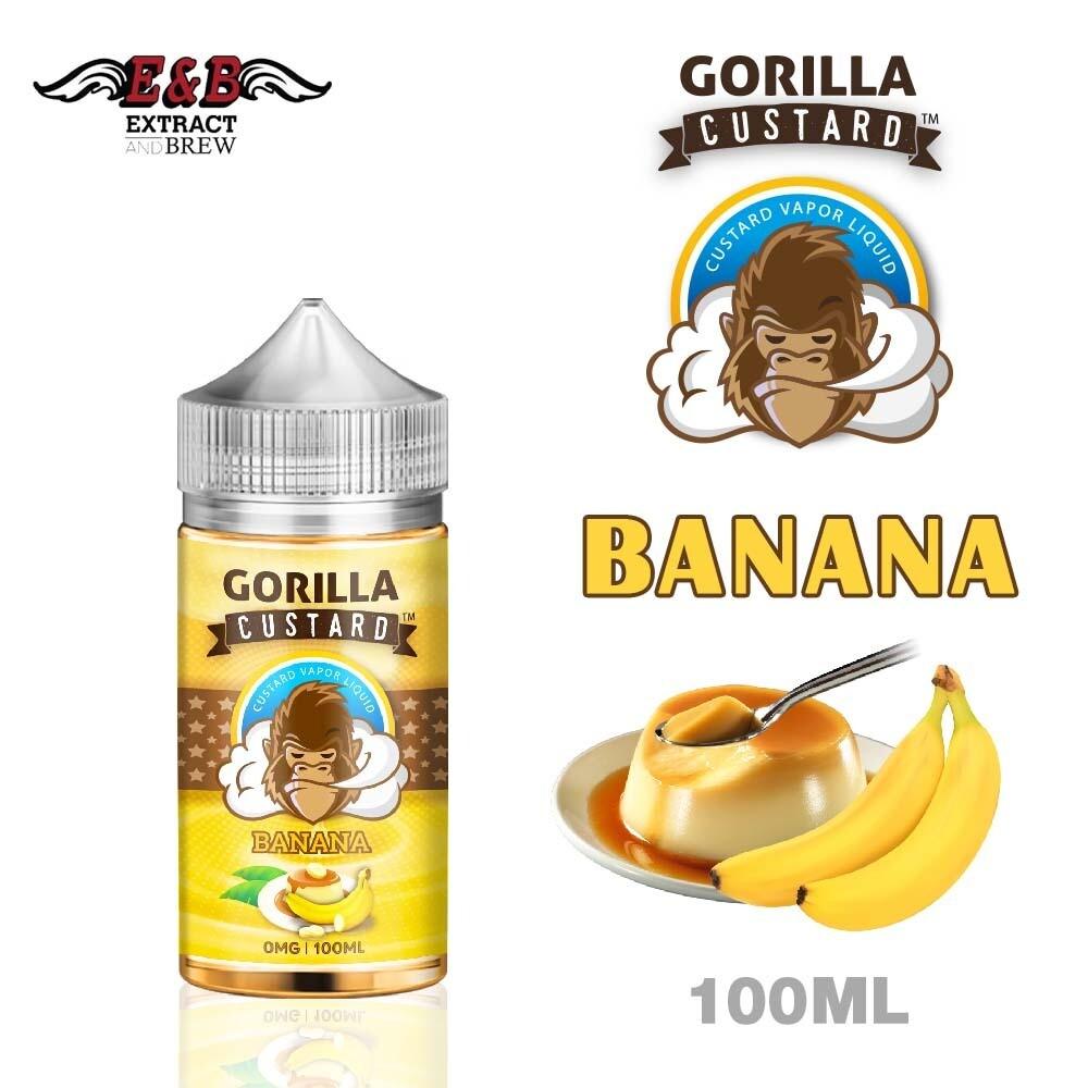 Gorilla Custard Banana غوريلا كاستارد مع الموز