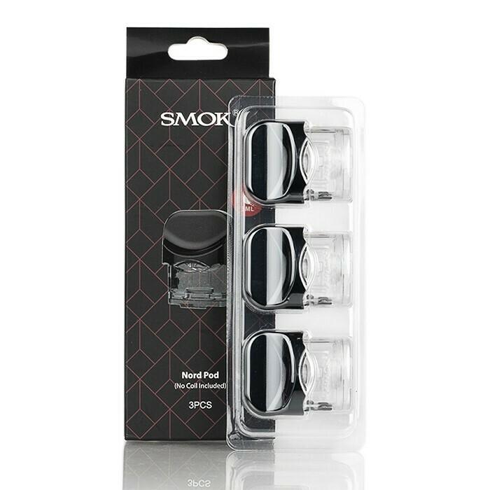 Smok Nord 1 Pods (3Pcs with no coils) ثلاث بدات سموك نورد ١ بدون كويلات