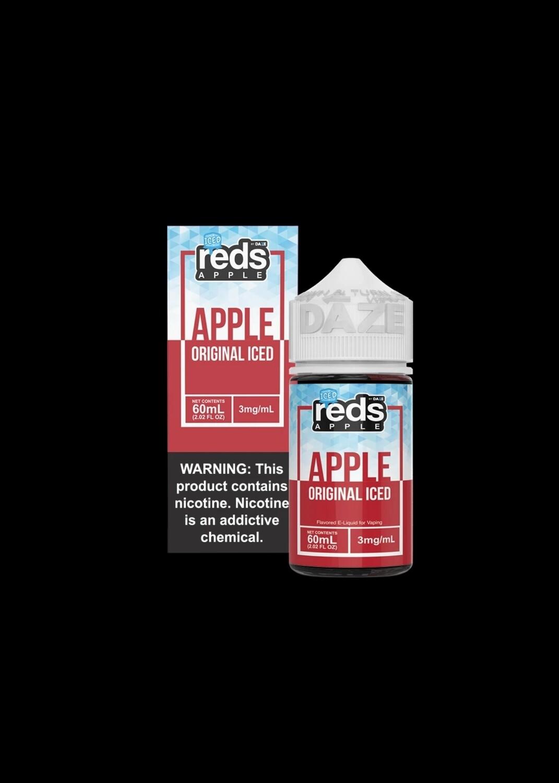 Reds Apples Iced Ejuice - عصير تفاح بارد من ريدز