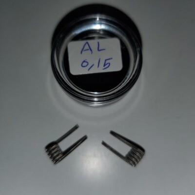 Handmade Alien Coils 0.15Ω زوج كويلات الين صناعة يدوية