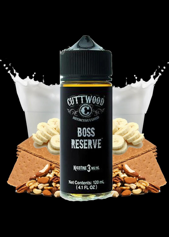 Cuttwood Boss Reserve كت وود بوس ريزيرف موز بالبسكويت مع المكسرات والعسل والحليب