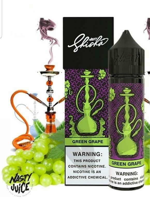 Nasty Shisha Green Grape  ناستي شيشة عنب أخضر