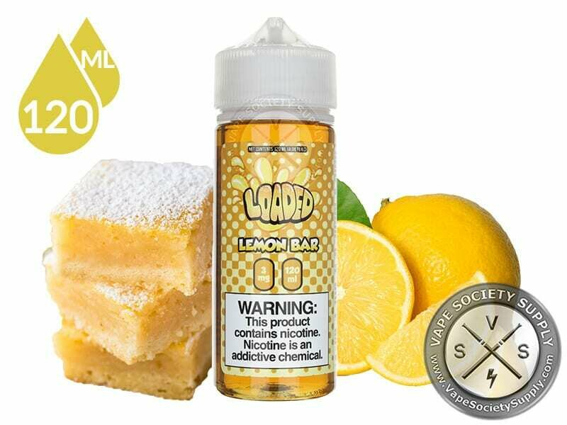 Loaded - Lemon Bar لوديد كيكة الليمون