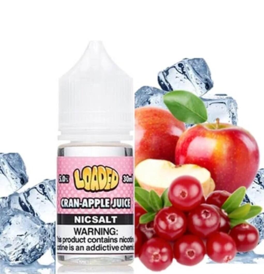 Loaded Cran-Apple on Ice Salt Nicotine لوديد تفاح وكرز بارد نيكوتين ملحي