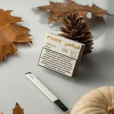 Phix Original Blend (Tobacco) Replacement Pods - 50MG - بودات اوريجينال بليند توباكو لجهاز سحبة السيجارة فيكس