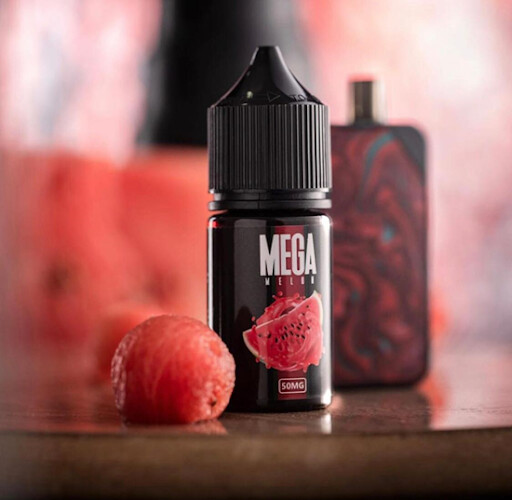 Mega Melon Salt Nicotine - ميجا ميلون بطيخ نيكوتين ملحي